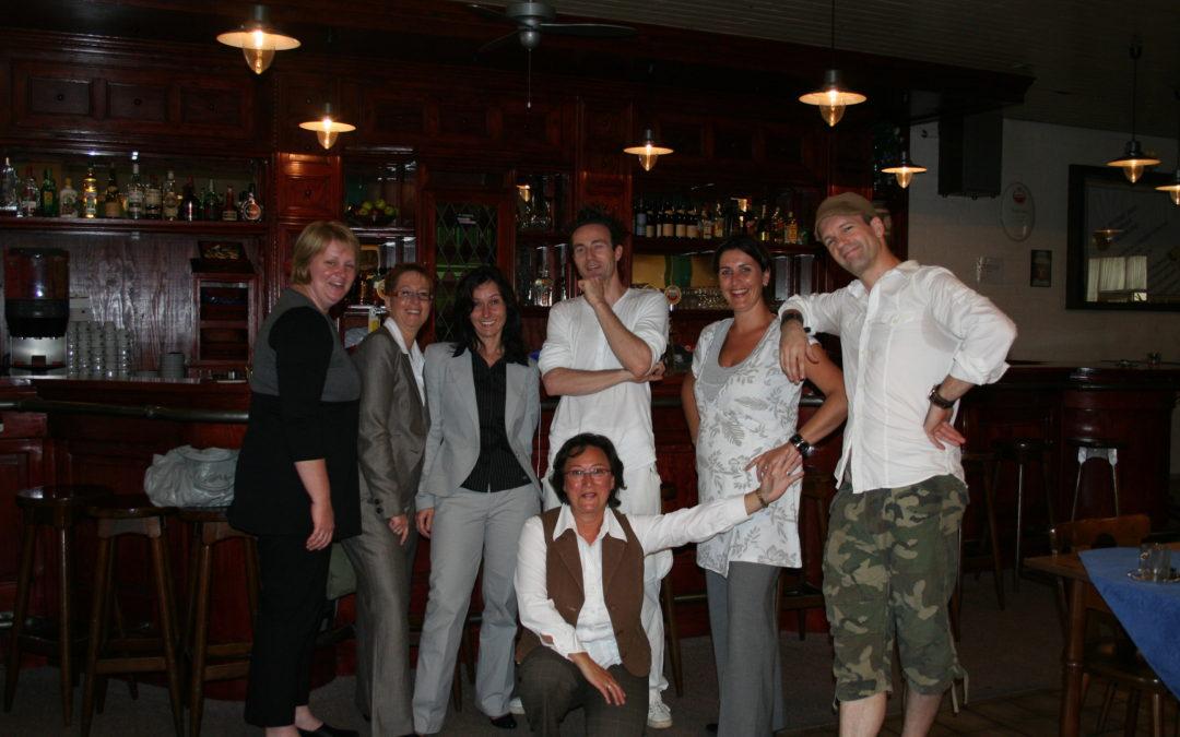 Team Rabobank Roermond-Echt 2008 met Mike-E & Spike-Y